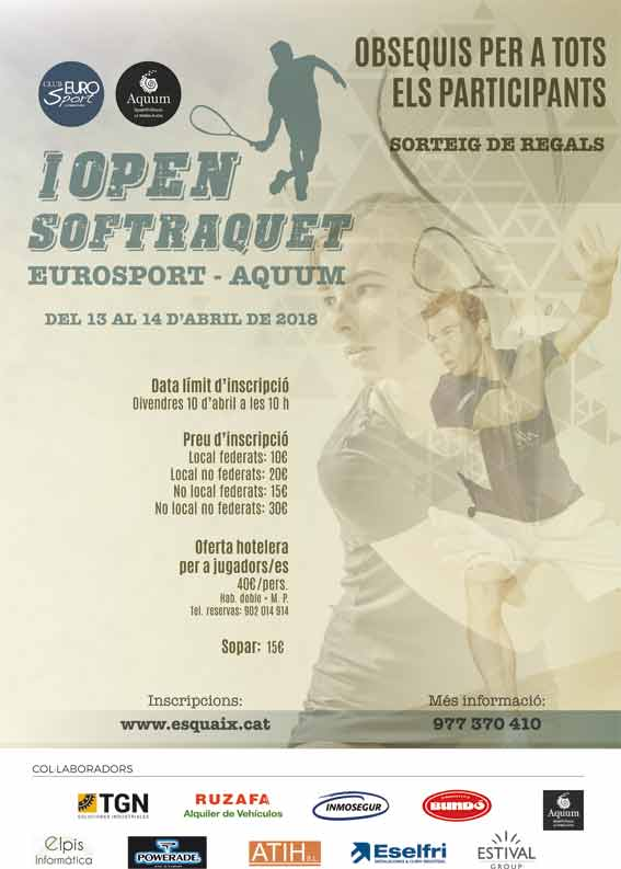 I Open Softraquet 2018